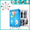 Uscator electric pentru haine tip dulap 2 IN 1