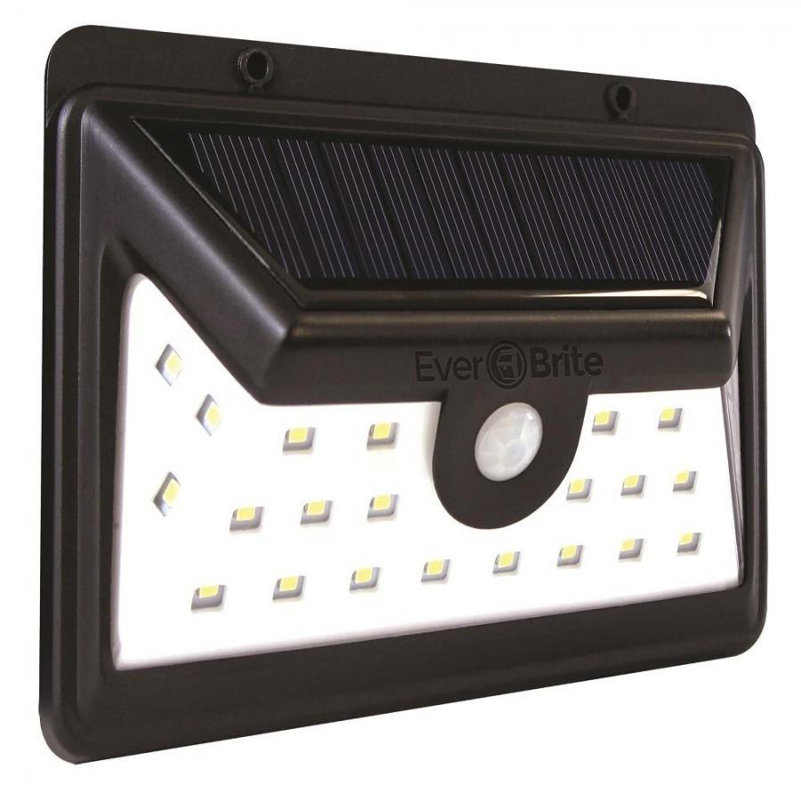 Lampa LED dubla cu incarcare solara si senzor de miscare imagine techstar.ro 2021