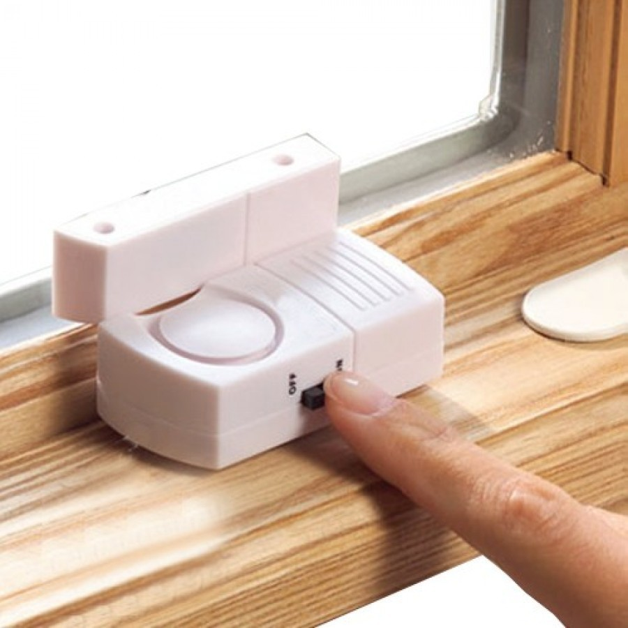 Set 2 Alarme magnetice pentru usi si ferestre imagine techstar.ro 2021