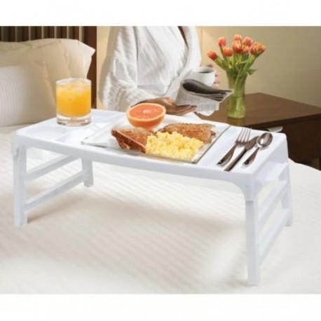Masuta pentru mic dejun la pat, cu picioare rabatabile