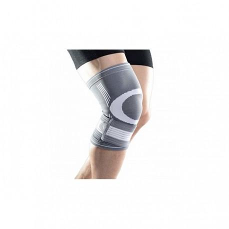 Genunchiera elastica cu suport de fixare ajustabil