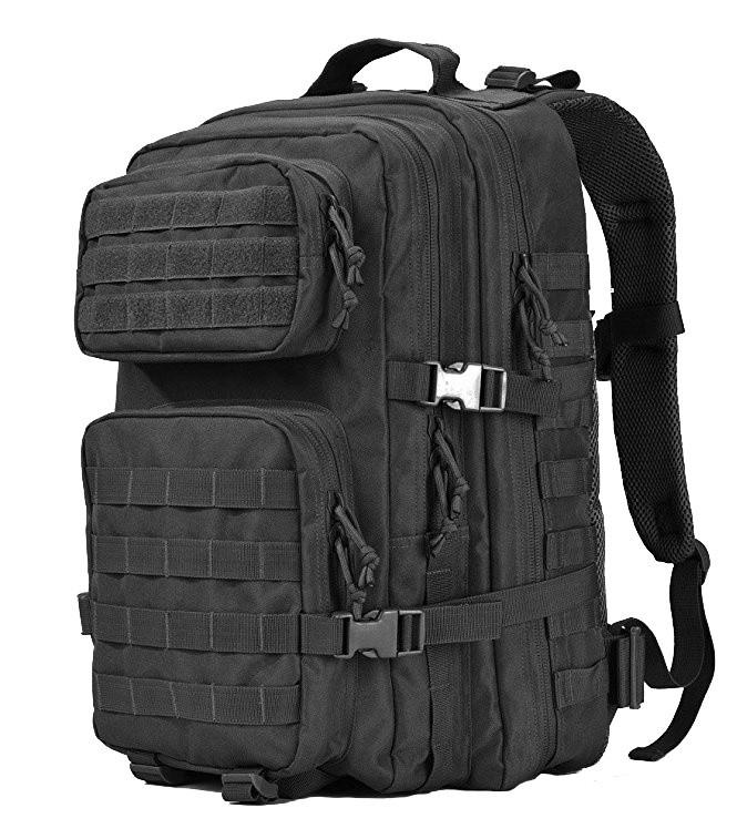 Rucsac militar, negru, 45L, 600D polyester imagine techstar.ro 2021