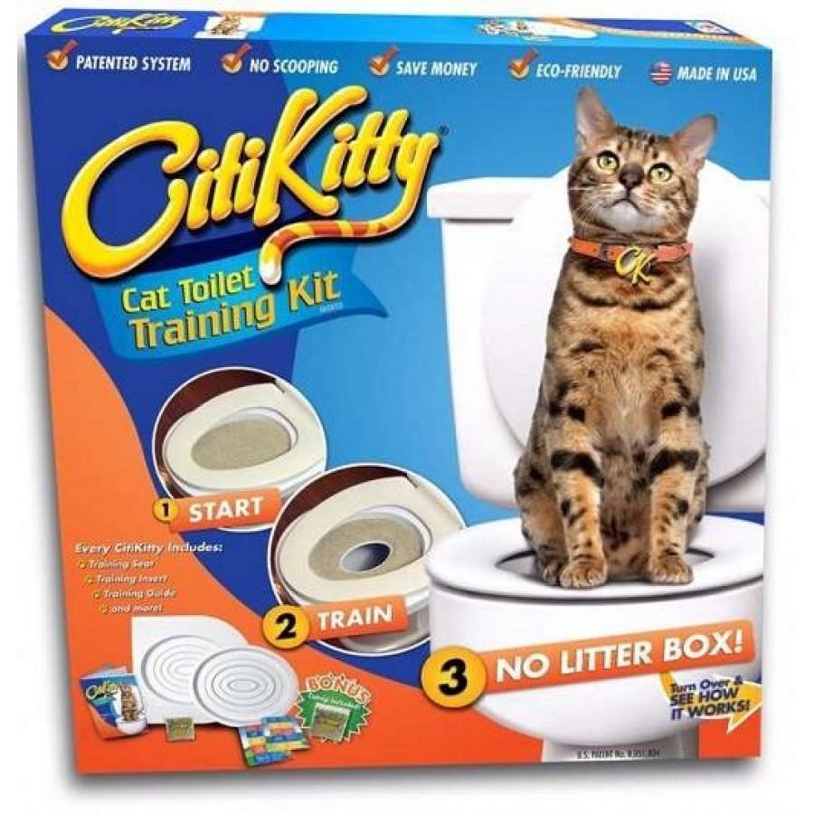 Kit pentru educarea pisicilor la toaleta imagine techstar.ro 2021