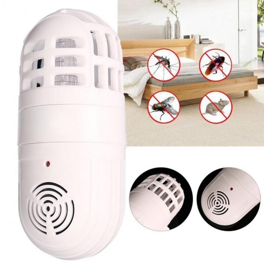 Dispozitiv anti tantari sau insecte cu ultrasunete si lumina UV imagine techstar.ro 2021