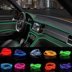 Banda LED auto decorativa, 2M