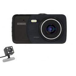Camera Video Auto Dubla Novatek T600 FullHD 12 Mega Pixeli cu G-Sensor si Unghi de 170°