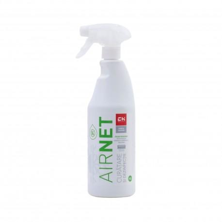 Solutie de curatare si igienizare pentru aer conditionat dezinfectant si bactericid - AirNet HA 750 ml