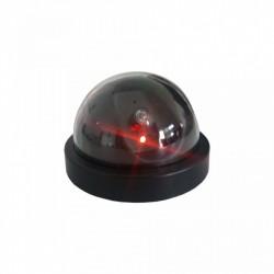 Camera supraveghere falsa Dome, cu led rosu, aprindere intermitenta