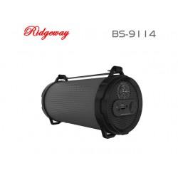 Boxe Portabile Bluetooth Ridgeway BS-9114/black