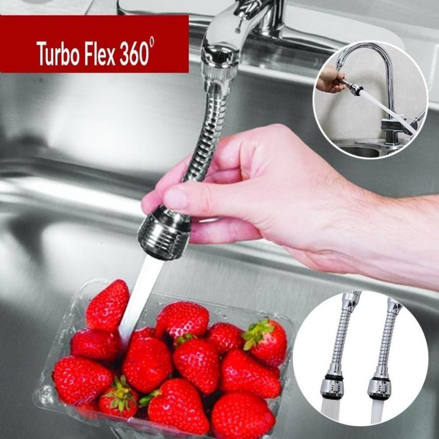 Prelungitor flexibil universal pentru robinet Turbo Flex imagine techstar.ro 2021