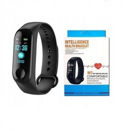 Bratara fitness inteligenta M3, Ritm cardiac,Pedometru, info calorii