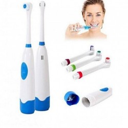 Periuta electrica cu 3 capete de rezerva, pentru curatarea dintilor