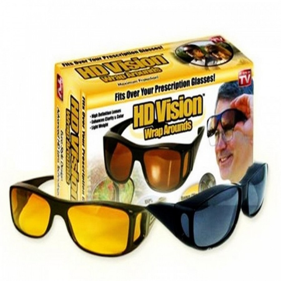 Set 2 perechi ochelari de zi si de noapte HD Vision imagine techstar.ro 2021