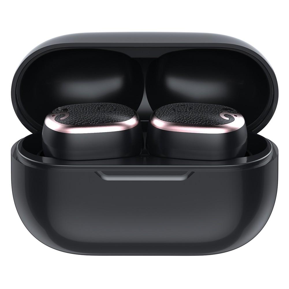 Casti Smart Techstar® TWS S17 mini, Wireless, Bluetooth V5.0, IPX5, HD Audio, Touch, iOS, Android, Type-C, Negru imagine techstar.ro 2021