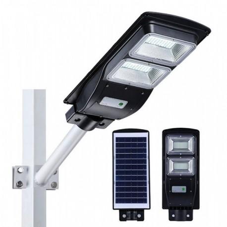 Proiector cu panou solar 60W cu senzor lumina