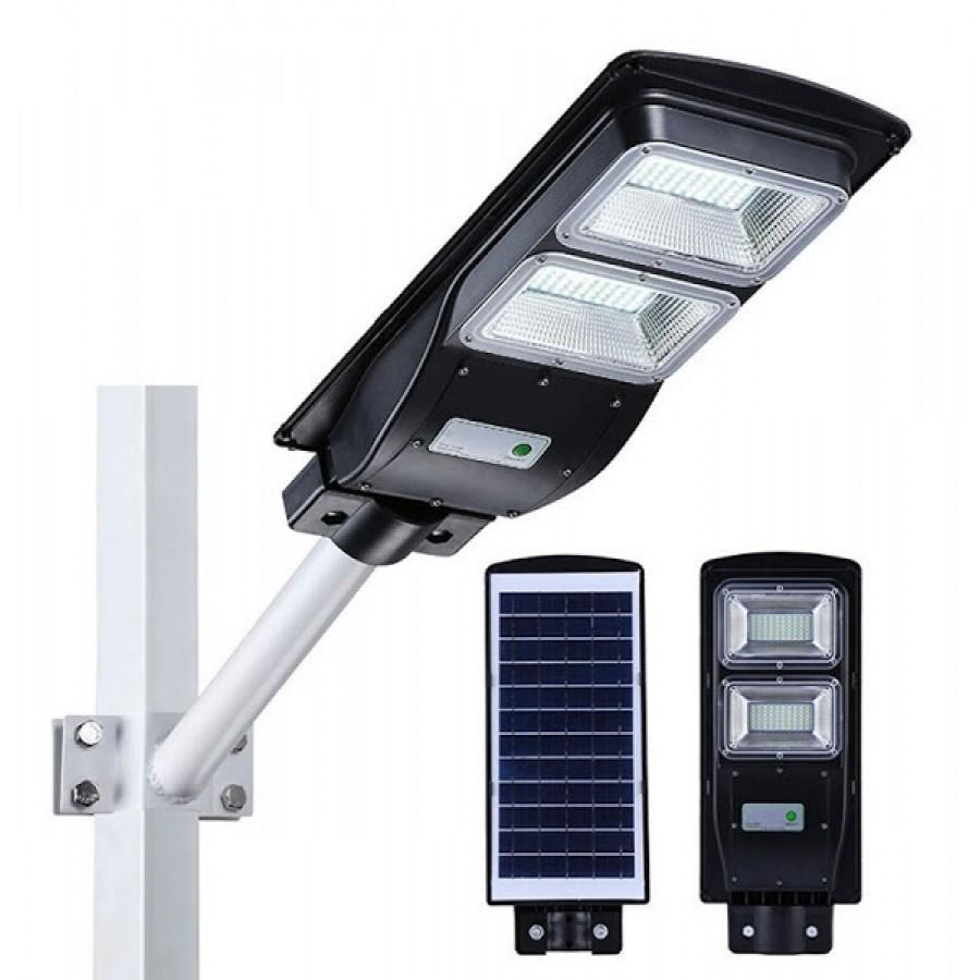 Proiector cu panou solar 60W senzor miscare imagine techstar.ro 2021