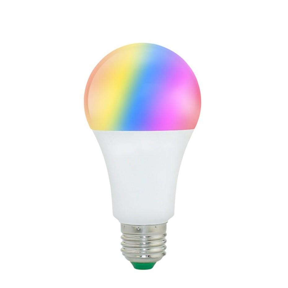 Bec Smart Techstar® Wireless 2.4GHz, RGBW, 9W, E27, Lumina Calda, Lumina Rece imagine techstar.ro 2021