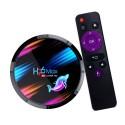 TV Box Techstar® H96 Max X3, Android 9.0, UltraHD 8K, 4K@ 60fps, 4GB RAM, 32GB ROM, 5G WiFi, Bluetooth 4.0, Cu IPTV, Model 2020