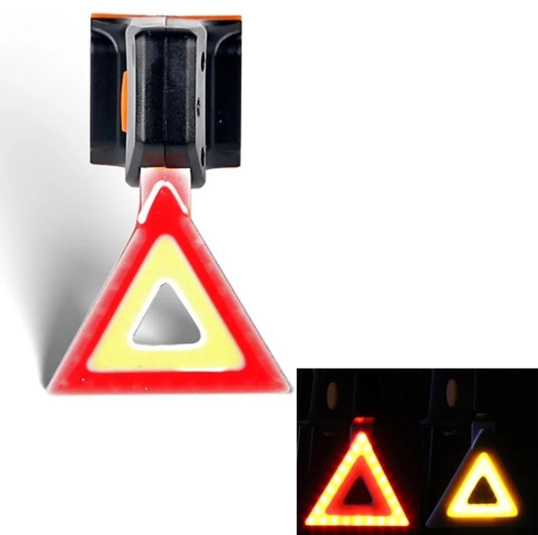 Stop bicicleta cu led, incarcare USB imagine techstar.ro 2021