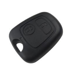 Carcasa Cheie Auto Techstar® Citroen C3, C2, C1, 206, 307, 407, 2 Butoane, Fara Lama
