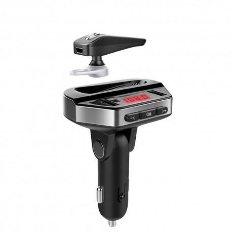 Kit modulator MP3 + Handsfree cu casca bluetooth V6