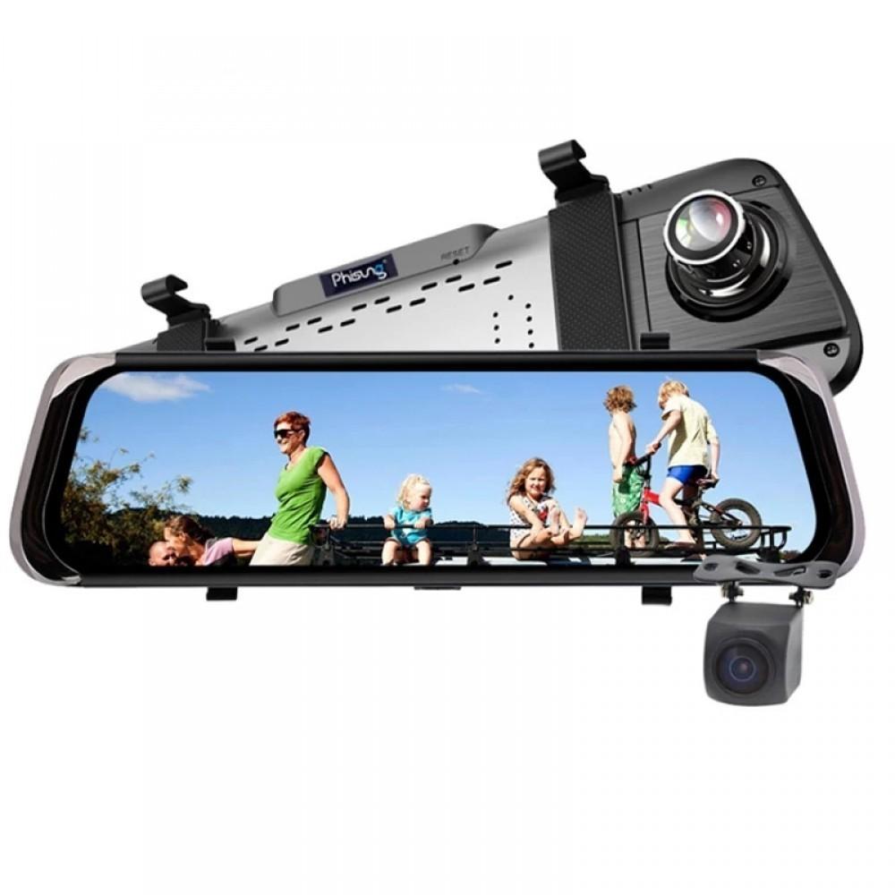 """Oglinda retrovizoare, Dvr Camera Video Recorder, 10"""""""" - Autoecho + camera marsarier imagine techstar.ro 2021"""