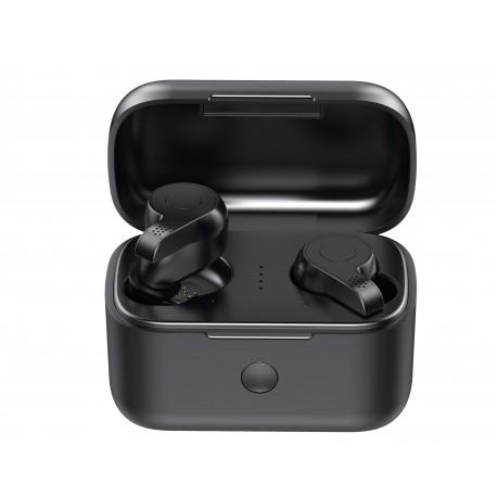 Casti Smart Techstar® TWS S11 , Wireless, Bluetooth V5.0, HD Audio, Touch, IPX6, iOS, Android, 2000mAh, Negru