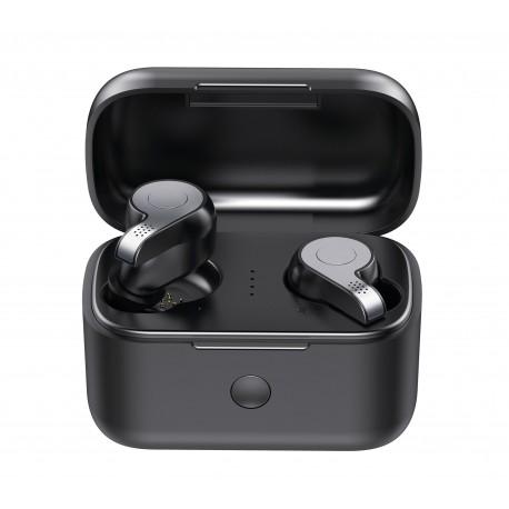 Casti Smart Techstar® TWS S11 , Wireless, Bluetooth V5.0, HD Audio, Touch, IPX6, iOS, Android, 2000mAh, Gri