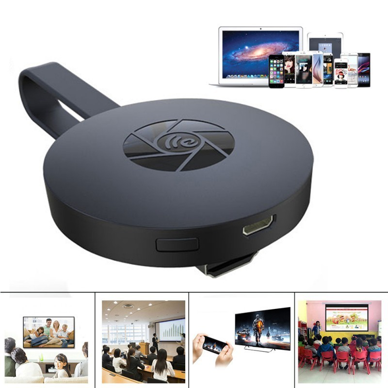 Streaming Media Player Tv, Casting Full Hd,wirelles Wi-fi Dlna Android Ios