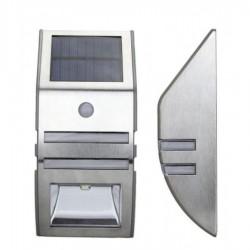 Lampa metalica solara cu senzor 1xLED IP44