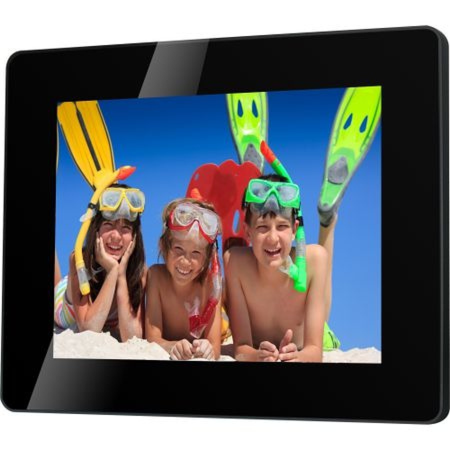 "Rama foto digitala Serioux SmartArt 882MLED, 8"""", Slim, Black imagine techstar.ro 2021"