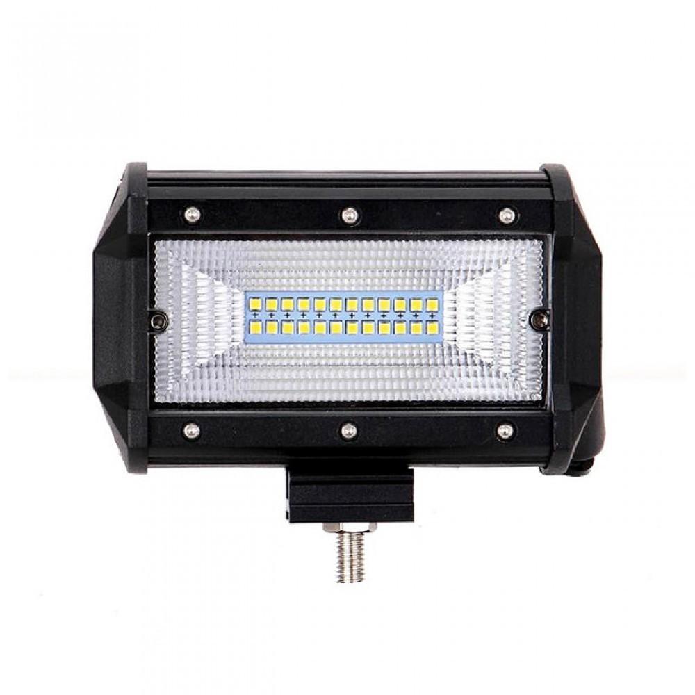 Proiector Auto,, LED Bar, Off Road, patrat, 72W, 13cm imagine techstar.ro 2021