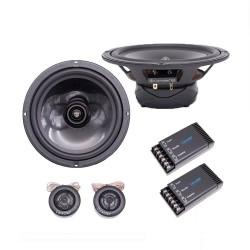 Kit Difuzoare Auto Coaxiale Carwales CL-Q5650C, Tweeter, 180W RMS, 250W Max, 16.5cm