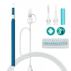Camera endoscopica pentru curatarea urechilor