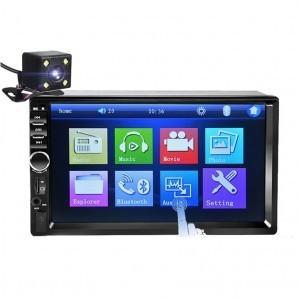 Mp5 Player 7018B + Camera marsarier, Ecran tactil 7Inch Bluetooth, USB, Slot card SD imagine techstar.ro 2021