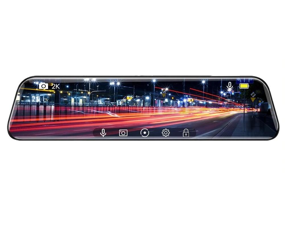 Camera Auto Dubla Tip Oglinda, Techstar® D40, 10