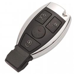 Cheie Auto Completa Techstar® Mercedes A, B, C, E, G, M, R, S Class, Sprinter, Viano, Vito, 3 Butoane, BGA, BE, NEC, 433Mhz