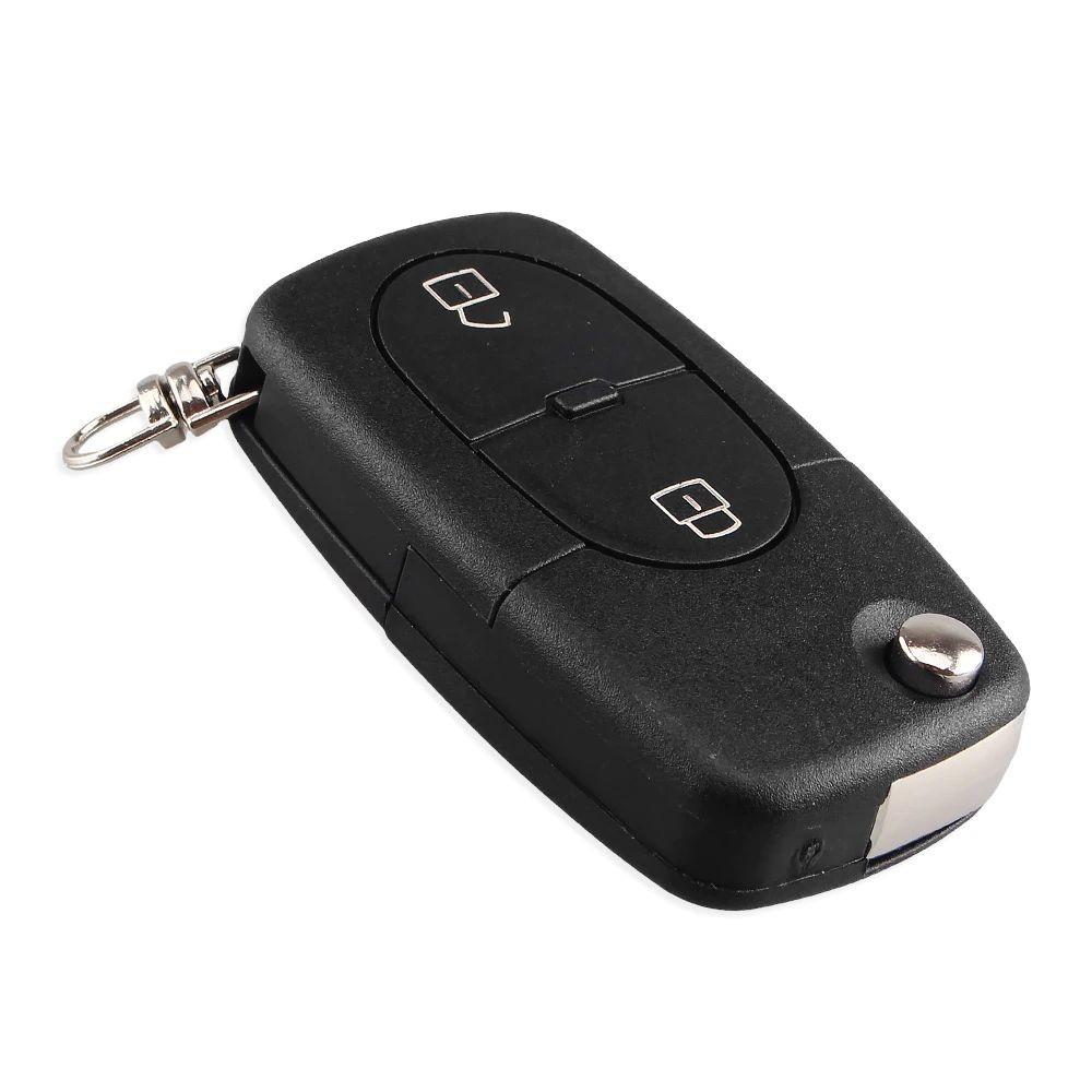 Carcasa Cheie Auto Techstar® AUDI, A2, A3, A4, A6, A8, TT, 2 Butoane, CR2032 imagine techstar.ro 2021