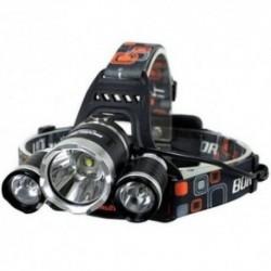 Lanterna frontala de cap 3 X LED CREE XML, T6