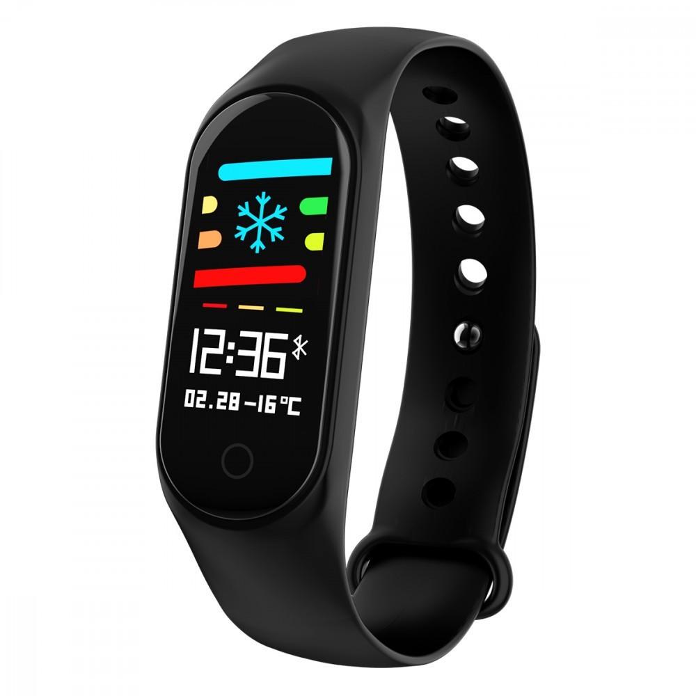 Bratara fitness inteligenta M4, Ritm cardiac,Pedometru, info calorii
