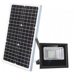 Proiector solar 80W, panou solar si telecomanda