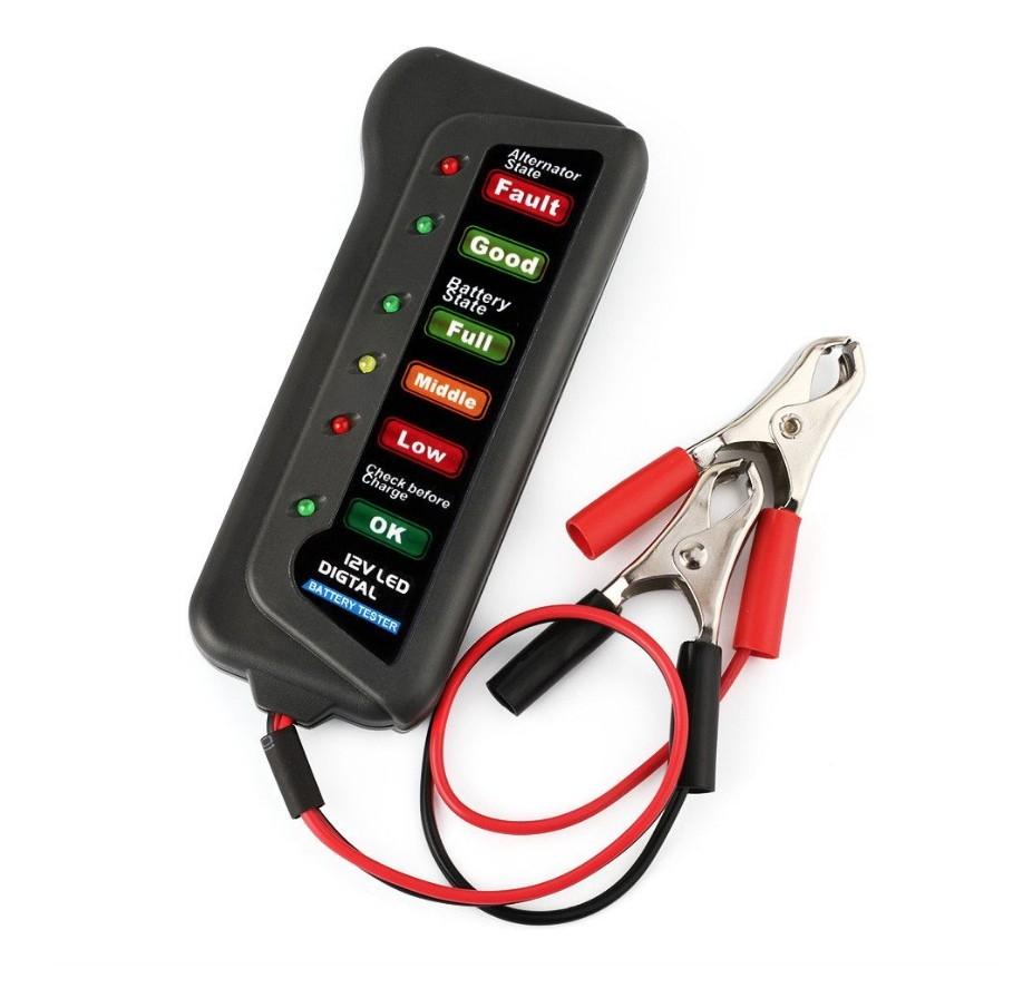 Tester baterie auto Verficare stare alternator si Baterie imagine techstar.ro 2021