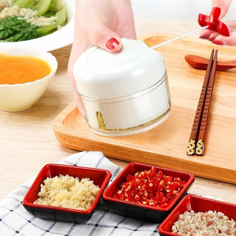 Mini tocator manual legume Food Chopper imagine techstar.ro 2021
