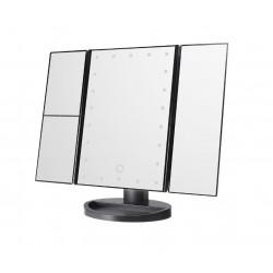Oglinda cosmetica LED, extensibila