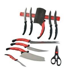 Set Cutite, Contour Pro Knives, 11 Piese, Otel