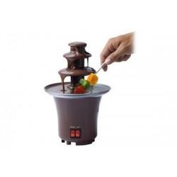 Mini Fantana pentru Ciocolata Fondue, 2 Butoane, Otel Inoxidabil