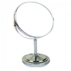 Oglinda cosmetica, Lupa, Inox,