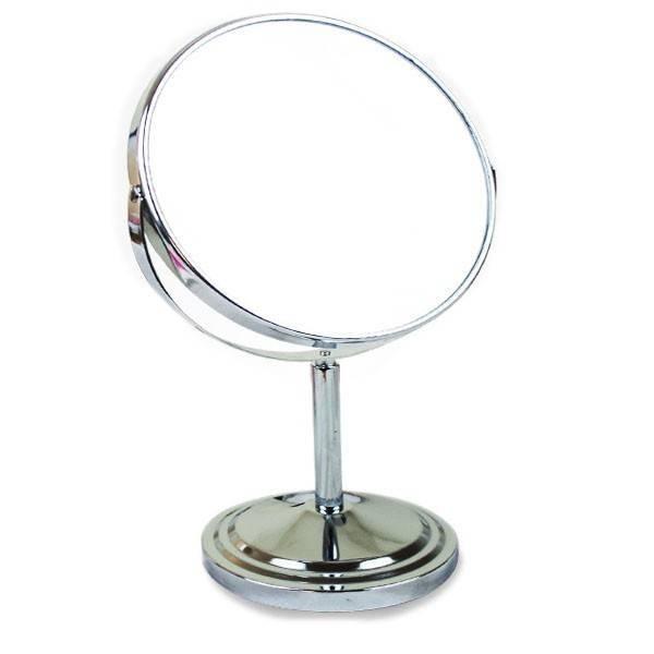 Oglinda cosmetica, Lupa, Inox, imagine techstar.ro 2021
