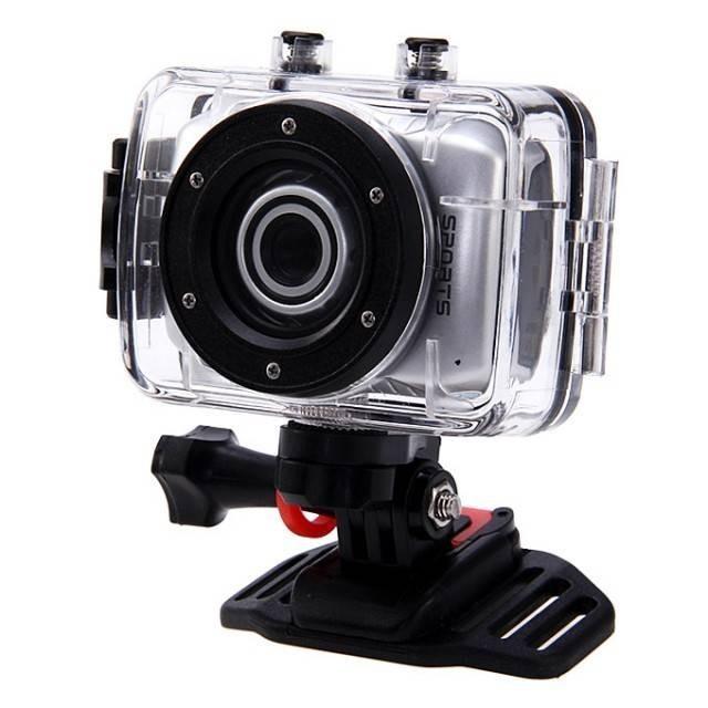 Camera video sport, subacvatica, HD + kit accesorii imagine techstar.ro 2021