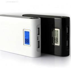 Baterie externa cu display si lanterna 20000 mAh